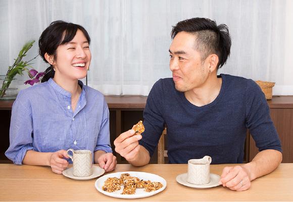 食はごほうび。栄養だけでなく、おいしく食べることも大事にしたい