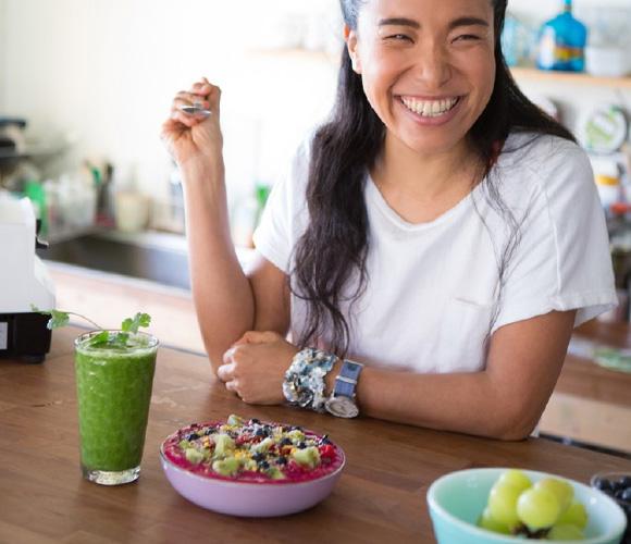 「朝食がおいしいと、日中にしっかり活動でき、眠りが深くなるんです」