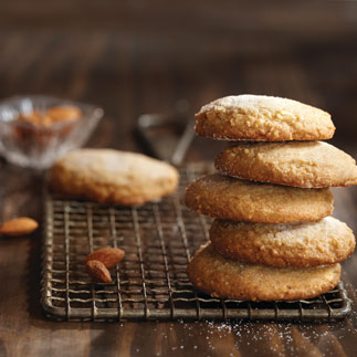 アーモンドとオートミールのヴィーガンクッキー