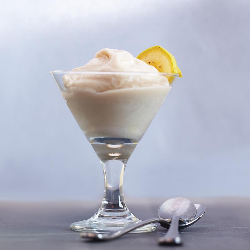 バナナアイスミルク