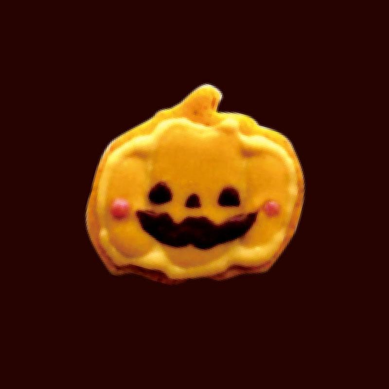 ジャックオランタンのveganパンプキンクッキー
