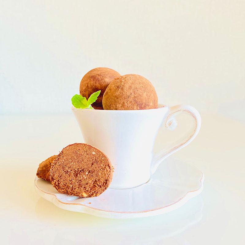カカオスノーボールクッキー
