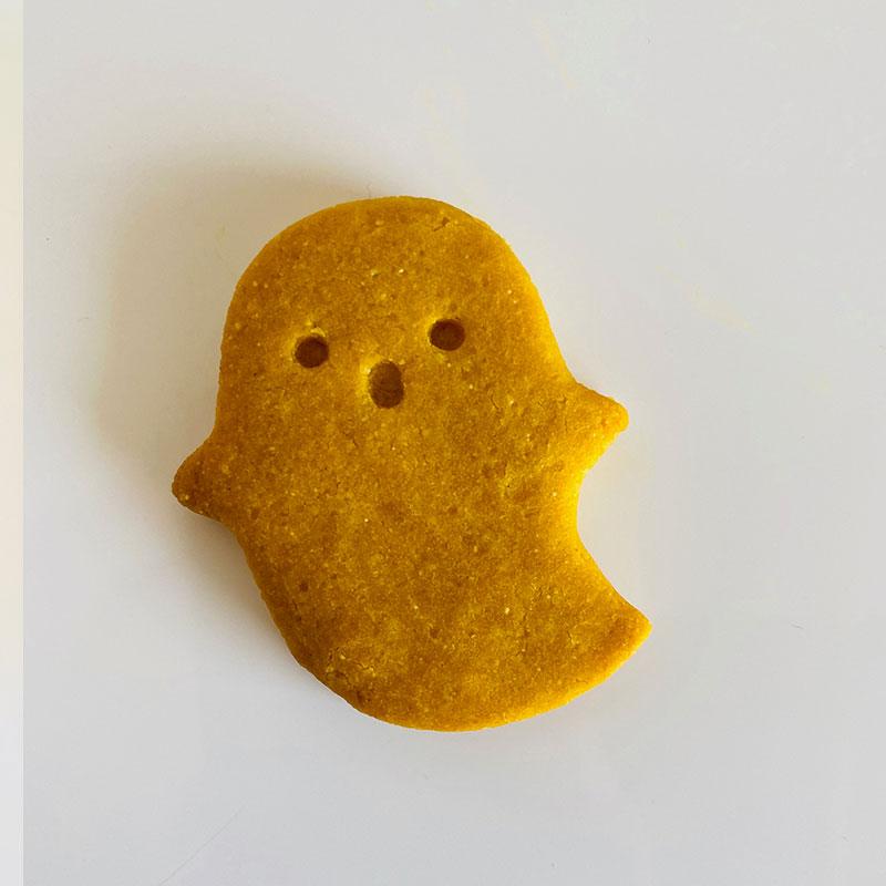 Glutenfree veganパンプキンおばけクッキー