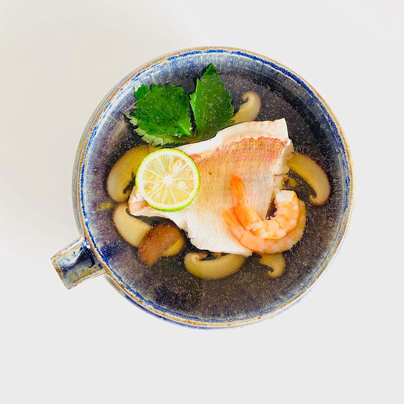 鯛の和風スープ