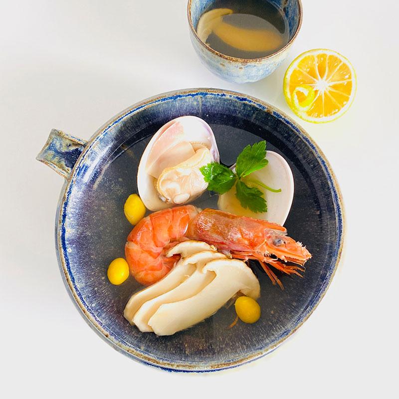 松茸土瓶蒸し風スープ