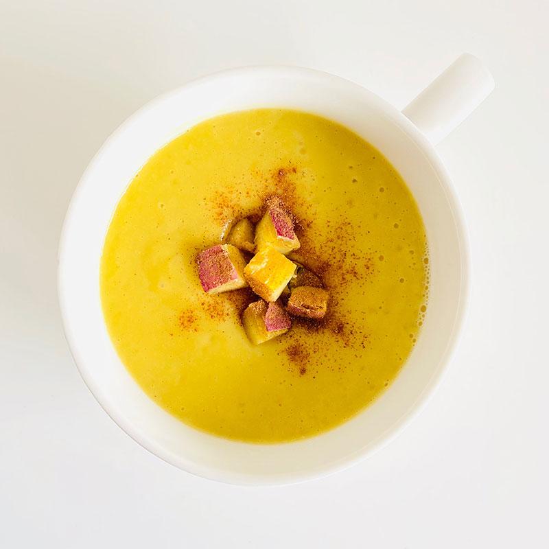 焼き芋コーンスープ