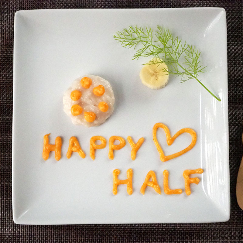 【初期】halfバースデーケーキ