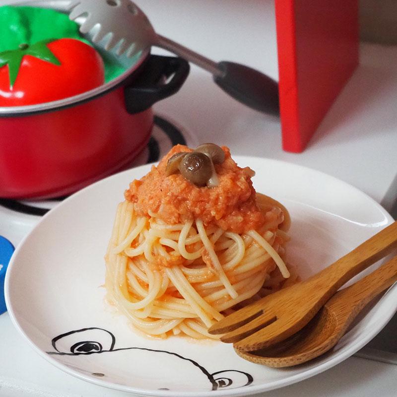トマトとツナのスパゲティ【後期9~11ヶ月】