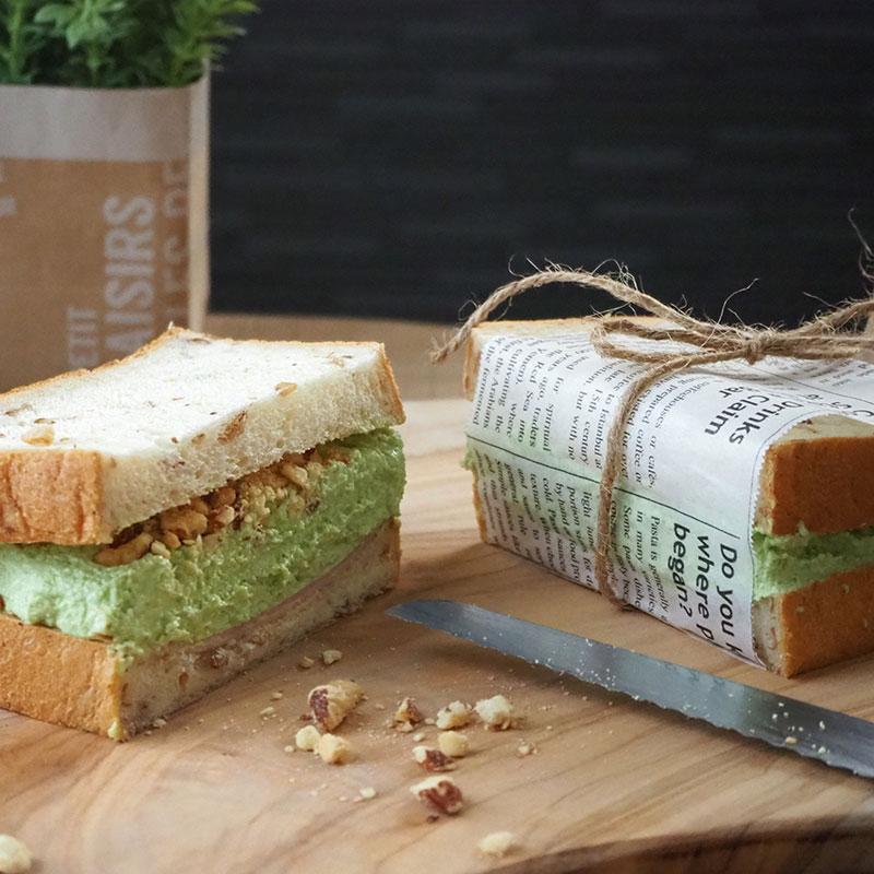 枝豆サンドイッチ