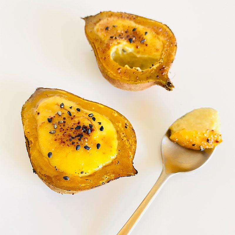 安納芋のveganプリン
