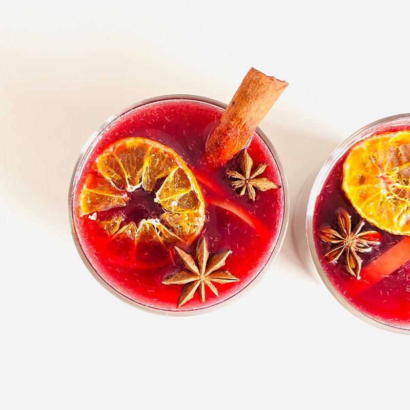 林檎と蜜柑のグロッグ