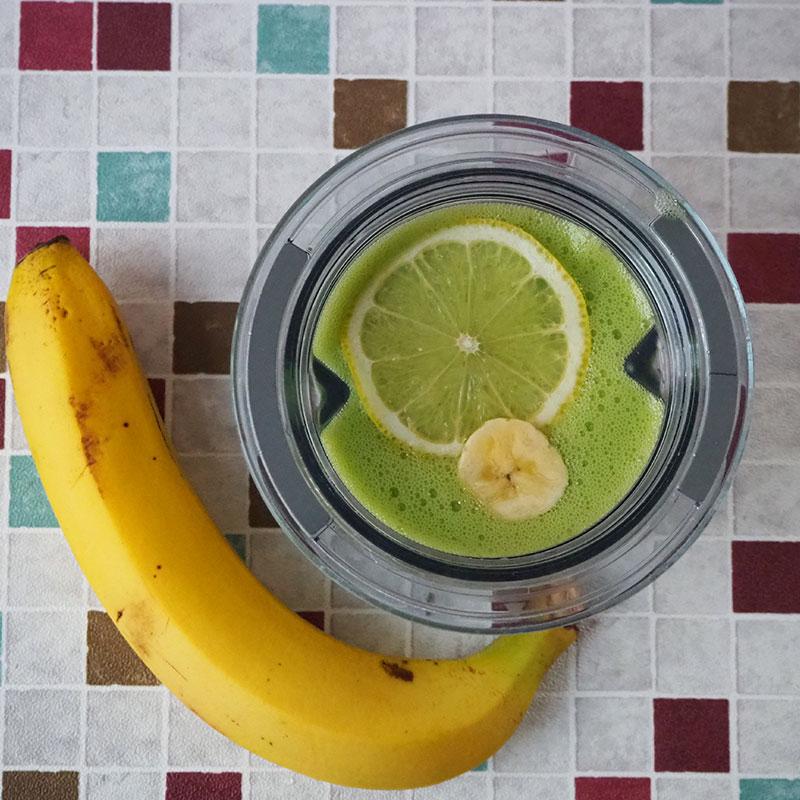 バナナとチンゲン菜のスムージー【完了期12~18ヶ月】