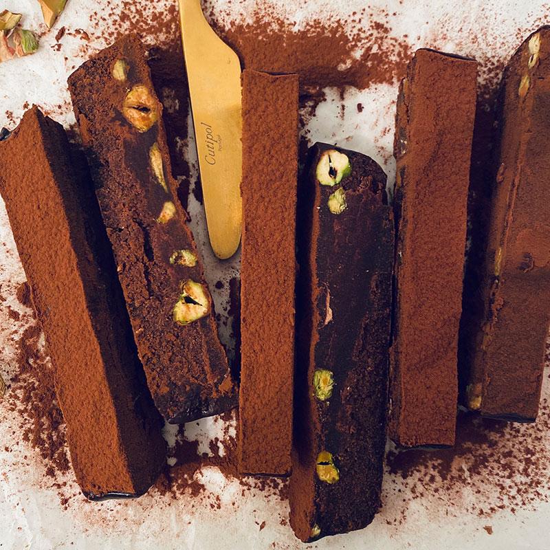 ピスタチオvegan生チョコレート