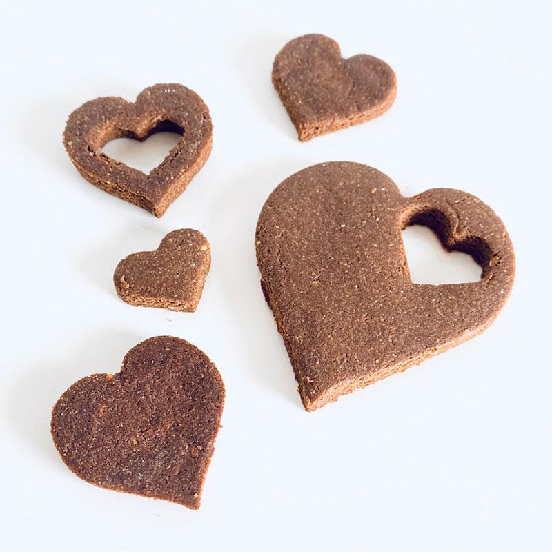 スペルト小麦のveganカカオクッキー
