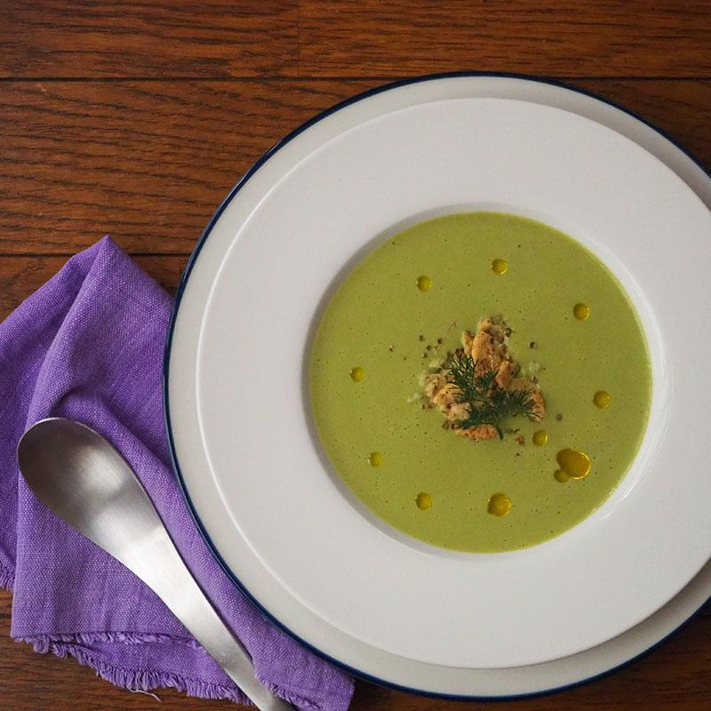 春キャベツのポタージュスープ
