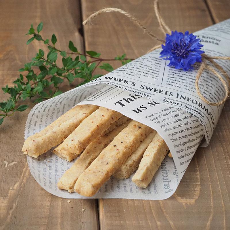 玄米粉のグリッシーニ