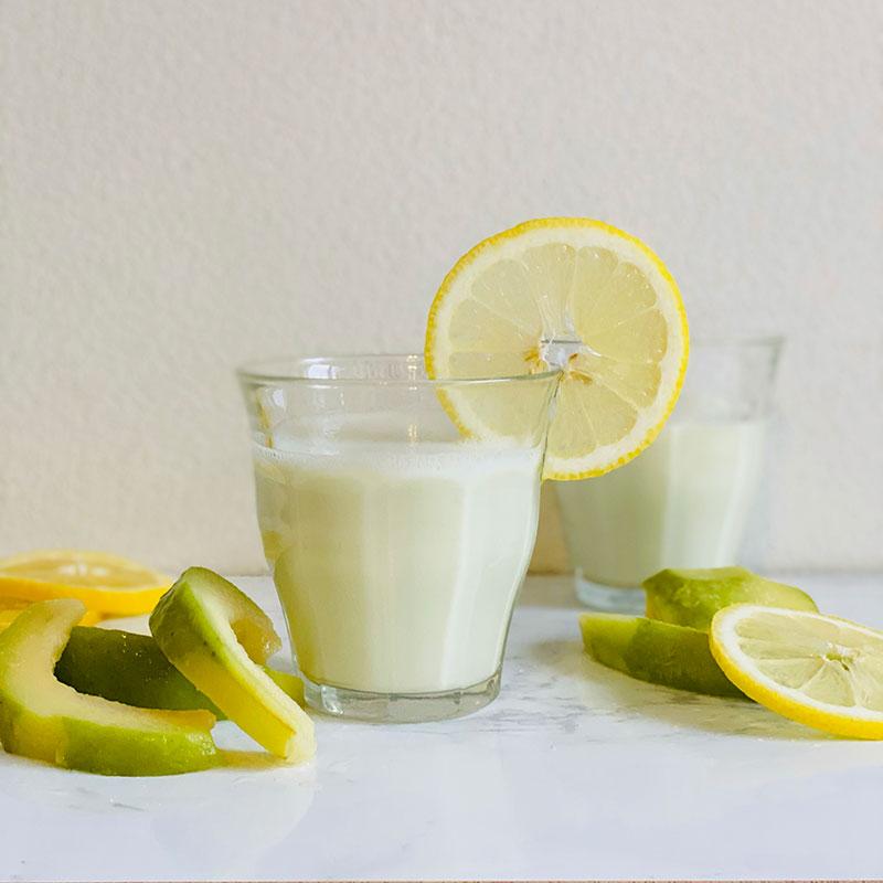 グァバとレモンのスムージー