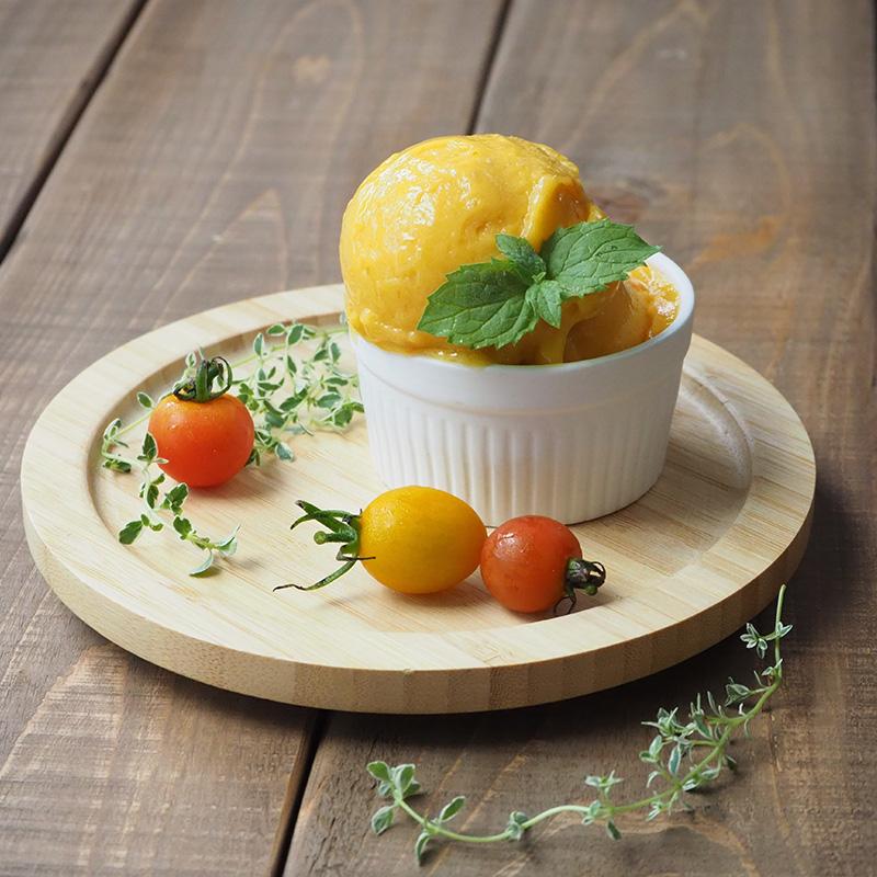 マンゴーとトマトのジェラート
