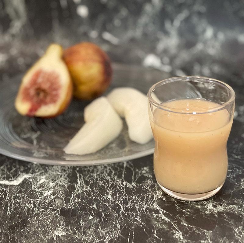 梨といちじくの潤いスムージー