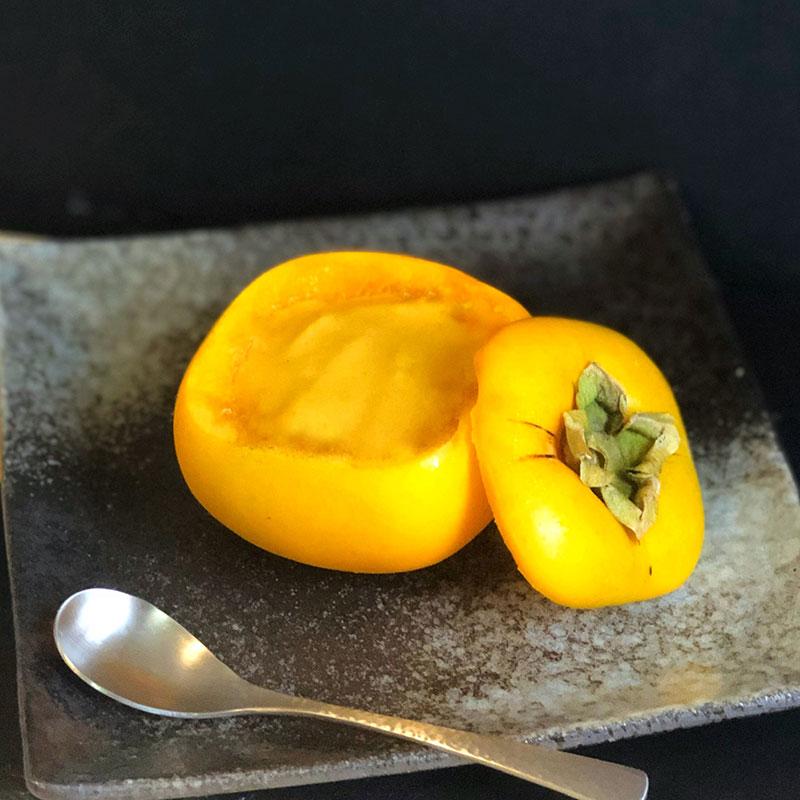 柿のミルクプリン